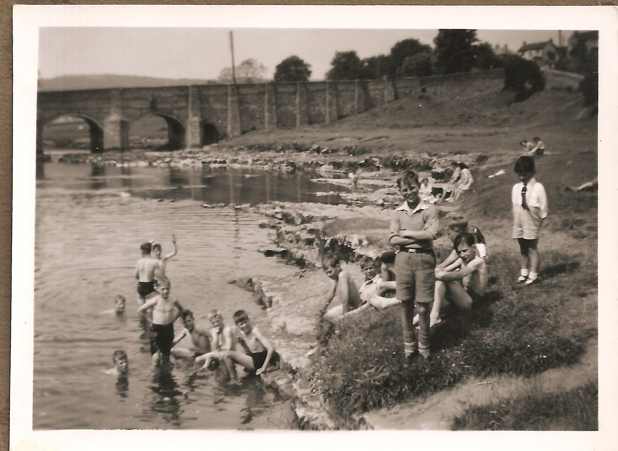 Swimming in the Wharfe